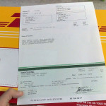 Google adsense DHL check delivery