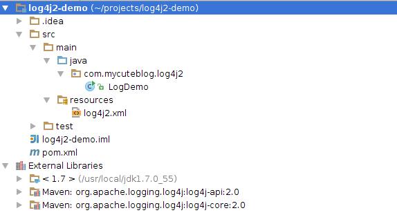 log4j2 example